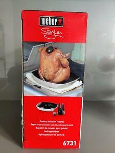 Weber Grill Deluxe Geflügelhalter / Geflügelbräter