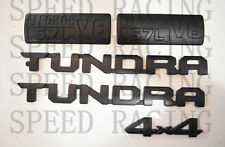 FOR 2014-2019 Toyota Tundra Matte Black Out Emblem Badges tailgate 5 Piece Kit