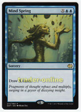 Mind Spring (Gedankenquelle) Merfolk vs. Goblins Magic MTG