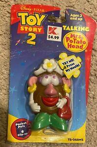 1999 DISNEY /  PIXAR TOY STORY 2 POCKET PALS BY HASBRO - MRS. POTATO HEAD - RARE