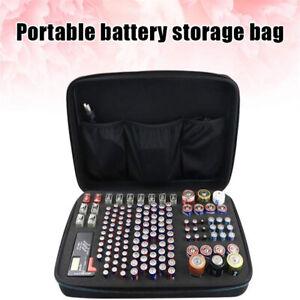 Hard Battery Organizer Storage Box Shockproof Waterproof Explosionproof Bag