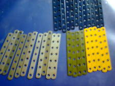 Part 235b - 7 hole narrow strip - 30 pieces mixed colours as per picture