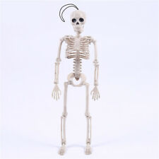 Posable Skeleton Halloween Decor Scary Man Bone Creepy Party Decors UK
