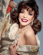 "JOAN COLLINS - 10"" x 8"" Colour Photograph From 2016 Magazine Layout Shoot  #1855"