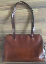 Handtasche Marke Louvier Braun Echtleder