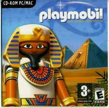 "Collection - CD-ROM PC / MAC Playmobil  ""l'Egypte Antique"" 2009, NEUF non ouvert"
