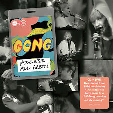 Gong : Access All Areas CD Album with DVD 2 discs (2015) ***NEW*** Amazing Value