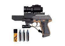 Daisy PowerLine 5503 CO2 Blowback Air Pistol w/Light Laser Sight & Red Dot Scope