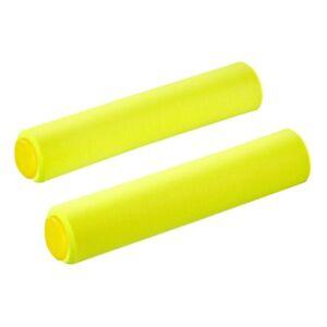 SupaCaz Siliconez SL Foam Handlebar Grips - Lightweight XC - Neon Yellow