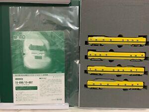 KATO 10-897 N gauge 923 type Doctor Yellow 3000 series Add-on 4-Car Set Train