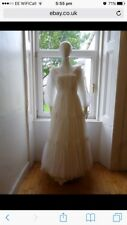 Vintage Wedding Dress Edwardian Style Immaculate
