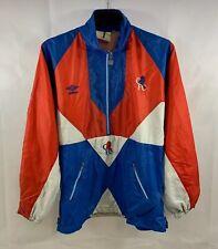 Chelsea Training Football 1/2 Zip Jacket 1990/92 Adults Medium Umbro A470