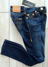TRUE RELIGION HALLE MID RISE SKINNY SUPER T Jeans Damen Jeans Gr.28 NEU ETIKETT