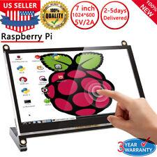 2020 NEW 7 inch 1024x600 HD LCD Touch Screen Monitor For Raspberry Pi B+/2B/3B/4