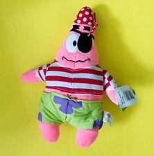 2003 NANCO SpongeBob Squarepants Pirate Patrick Plush New w/ Tags