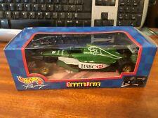 Hot Wheels 1/24 Scale #26685 Jaguar F1 Car - Irvine - Boxed