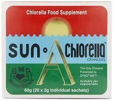 Sun Chlorella A Granules 20 x 3g Sachets