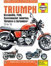 2001-2015 Triumph Bonneville T100 Speedmaster +More Repair Service Shop Manual