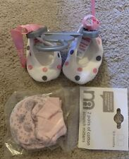 Girls Age 0-3 Months / Newborn Booties / Stratch Mits Mothercare BNWTS
