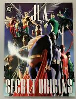 2003 DC Comics JLA - SECRET ORIGINS treasury size book Alex Ross, P Dini