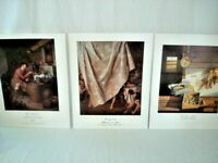 Dr. Alfred Bader Collection Lot of 3 Art Prints 11x14 in. Heerschop ~ Whalley