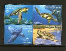 COCOS (KEELING) ISLANDS 2002 TURTLES BLOCK 4