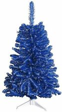 Blue & White 4Ft Christmas Tree, Multi-Colored Team Colored Sports Nfl, Ncaa Uk