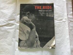 1948 CINCINNATI REDS  BASEBALL OFFICIAL SOUVENIR BOOK