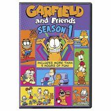 Garfield and Friends Season 1 Series One First (lorenzo Music Thom Huge) DVD