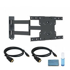 Full Motion LED LCD Plasma TV Wall Mount Bracket 23 26 32 37 40 42 50 52 55 inch