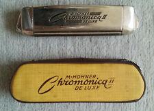 HOHNER Mundharmonika: Chromonica II De Luxe (Chromatic Harmonica), gebraucht