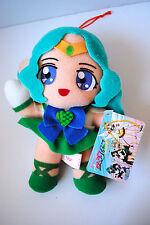 Sailor Moon Sailor Stars Super Sailor Neptune Plush Doll Japan Toy 1996