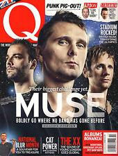 Q Magazine UK 315 October 2012 MUSE Blur Cat Power The XX Punk Lydon Strummer