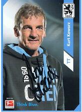 Tw Tr. Kurt Korwarz AK  13/14 TSV 1860 München mit original Ag.!