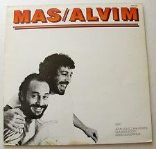 Jean-Pierre MAS / Cesarius ALVIM - FRENCH jazz ORIG LP POLYDOR 2393 301 (1981)