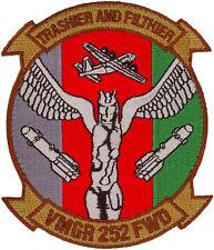 USMC MARINE AERIAL REFULER TRANSPORT SQUADRON  FORWAD PATCH - VMGR-252 FWD