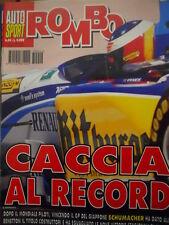 Auto & Sport ROMBO 44 1995 Michael Schumacher campione del mondo
