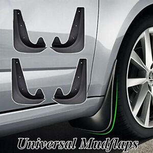 Car Accessories 4Pcs Front Rear Mud Flaps Splash Guard Mudguards Fender +Screws