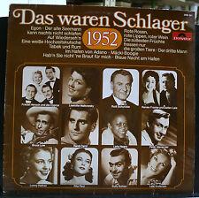 VINYL RECORD ALBUM DAS WAREN SCHLAGER 1952 MONO 2459 001 POLYDOR