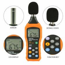 Peakmeter Pm6708 Lcd Digital Audio Decibel Sound Noise Level Meter 30 130db