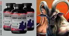 HORNY GOAT WEED - Penis-Enlarger Pills - Male Stamina 3 Bottles 180 Tablets