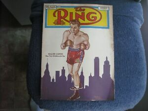 AUGUST 1951 THE RING  MAGAZINE WITH WALTER CARTIER       GROBEE1957