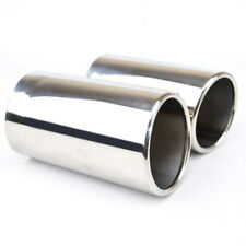 Volvo S70 125X200MM OVAL EXHAUST TIP TAIL PIPE PIECE CHROME SCREW CLIP ON