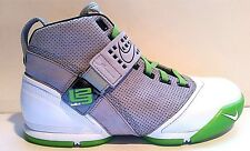 *RARE* DS NIKE ZOOM LEBRON JAMES V 5 DUNKMAN 10.5 GREY GREEN 317253-002 CTK SVSM
