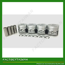 Piston Set Oversize 76.5mm for Kubota D1005 / V1305  +0.50  x 4 PCS