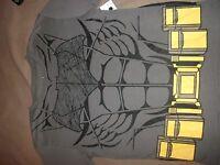 B52 Batman//Batmobile Dress Shirt Boy/'s size XL