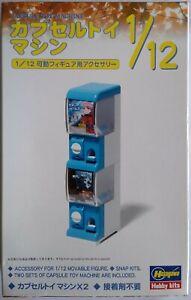 Capsule Toy Gacha Gachapon Machine Kit Figure Accessories 1/12 Scale by Hasegawa