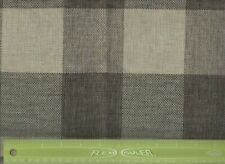 """Tan & Khaki Buffalo Check Gingham Throw Pillow Case 17"""" Square Cover Only New"""