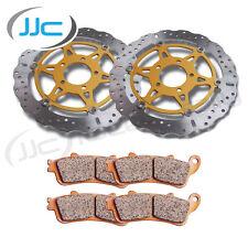 Ebc Xc Frontal Disco De Freno & Hh almohadillas Suzuki 2008 Gsx-r600 K8