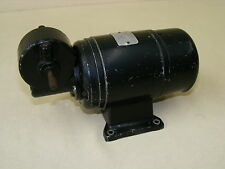 alter elektrischer Motor, Elektromotor Typ TM 87/60, Getriebemotor